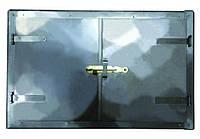 Дверка печная 776x490 мм черн. мет. Master Tools 92-0361