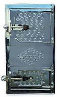 Дверка спаренная топочная - поддувальная 485x275 мм чугун Master Tools 92-0374