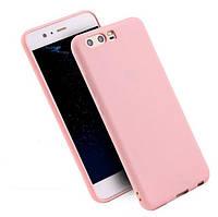 Чехол Style для Huawei P10 Бампер силиконовый розовый