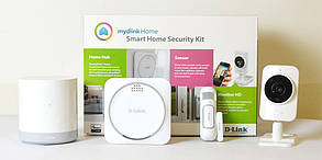 """Smart Home Security Kit DCH‑107KT """"Over-Stock"""" Б/У"""
