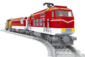 Конструктор Ausini 25807 Поезд: скоростной локомотив с цистерной, фото 2