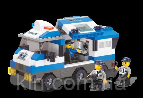 Конструктор детский SLUBAN M38-B0188 Полиция 253 детали