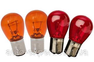 Лампы накаливания PY21W; PY21/5W; PR21W PR21/5W