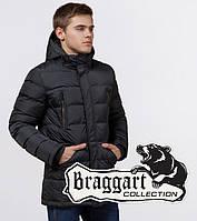 Braggart 'Aggressive' 13542   Мужская зимняя куртка с капюшоном графит, фото 1