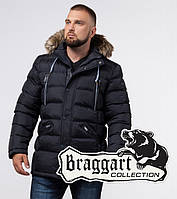 Braggart 'Aggressive' 21226 | Куртка зимняя мужская т-синяя, фото 1