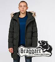 "Подросток 13-17 лет | Куртка зимняя Braggart ""Teenager"" 25170 темно-зеленая, фото 1"