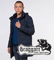 "Подросток 13-17 лет | Куртка зимняя Braggart ""Teenager"" 25200 синяя, фото 1"