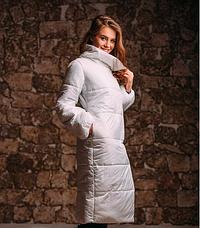 Стильное пальто из плащёвки, фото 3
