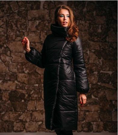 Стильное пальто из плащёвки
