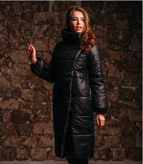 Стильное пальто из плащёвки, фото 2