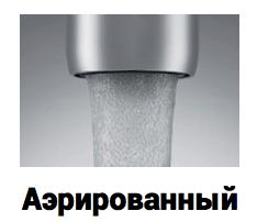 Насадка для экономии воды с аэрированным потоком