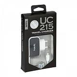 Зарядное устройство Havit  HV-UC215 micro usb black/white, фото 2