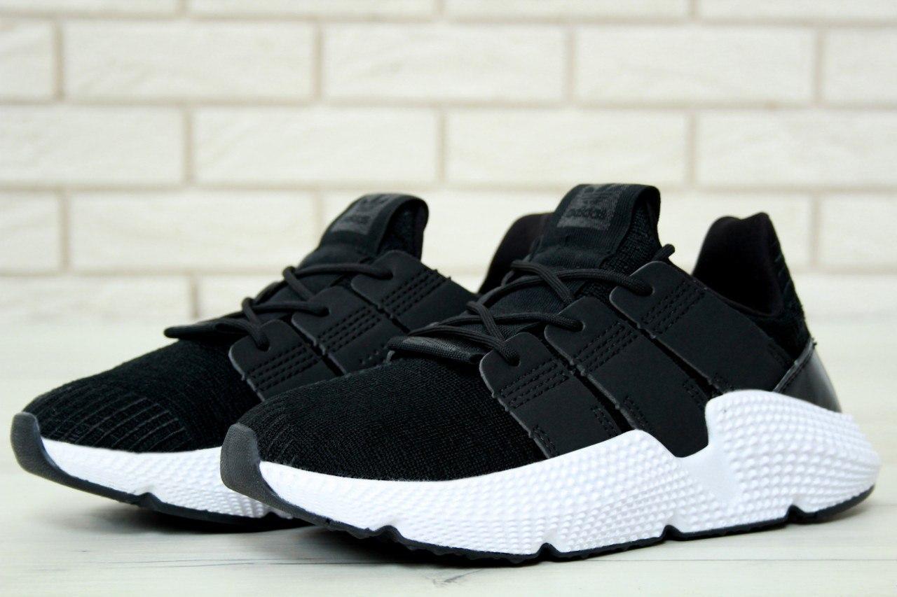 Мужские кроссовки в стиле Adidas Prophere Black (Реплика ААА+)