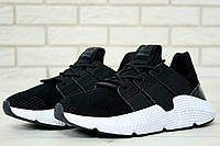 Мужские кроссовки в стиле Adidas Prophere Black (Реплика ААА+), фото 1