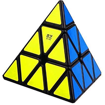 Логічна гра піраміда QiYi MoFangGe Pyraminx QiMing A Чии Мофанг Пираминкс ЧиМинг А