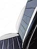 Чехлы на сиденья Фольксваген Гольф 4 (Volkswagen Golf 4) (универсальные, кожзам, пилот СПОРТ), фото 3