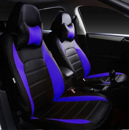 Чехлы на сиденья Фольксваген Кадди (Volkswagen Caddy) (модельные, НЕО Х, отдельный подголовник)