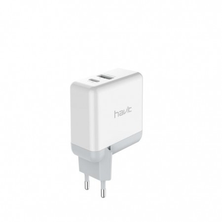 Зарядное устройство Havit  HV-H116 white