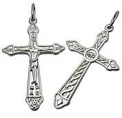 Серебряный крестик 1001кр