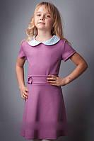 Трикотажное детское платье в ярких расцветках