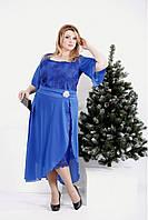 Нарядное платье (в комплекте съемная юбка) | 42-74