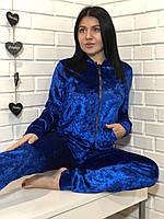 Велюровый спортивный костюм ТМ Exclusive 069, одежда для дома.