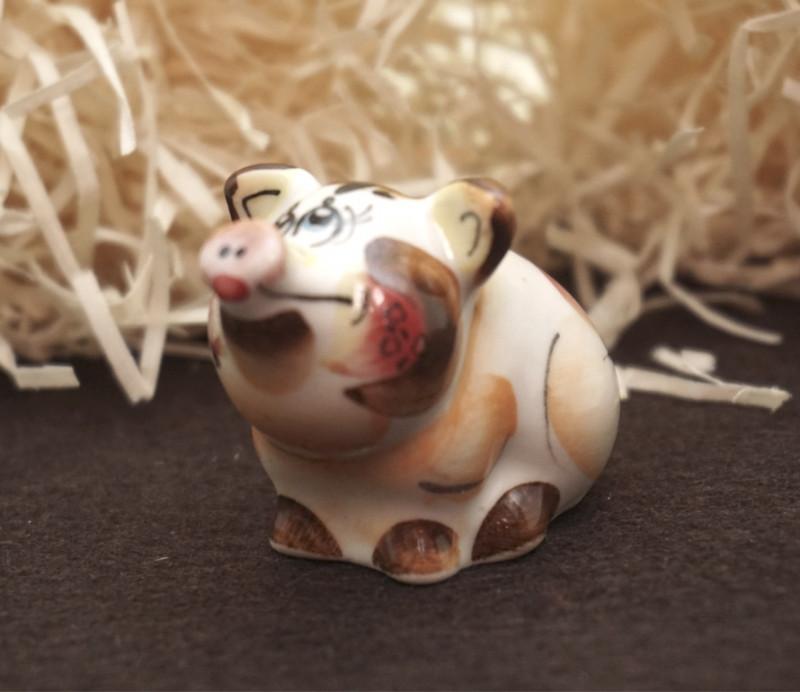 Фигурка декоративная Свинка Хрюша