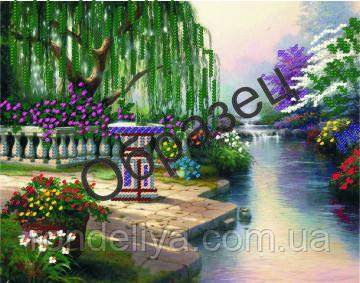 Схема для вишивки бісером «Пейзаж»
