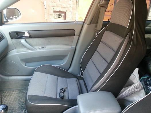 Чехлы на сиденья Вольво 240 (Volvo 240) (универсальные, автоткань, пилот)