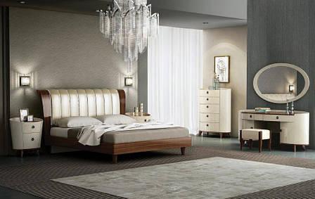 Спальня Палермо (Орех / Бежевый), фото 2