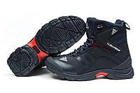 Зимние кроссовки на меху Adidas Climaproof, темно-синий (30622), р.  [  44 (последняя пара)  ]