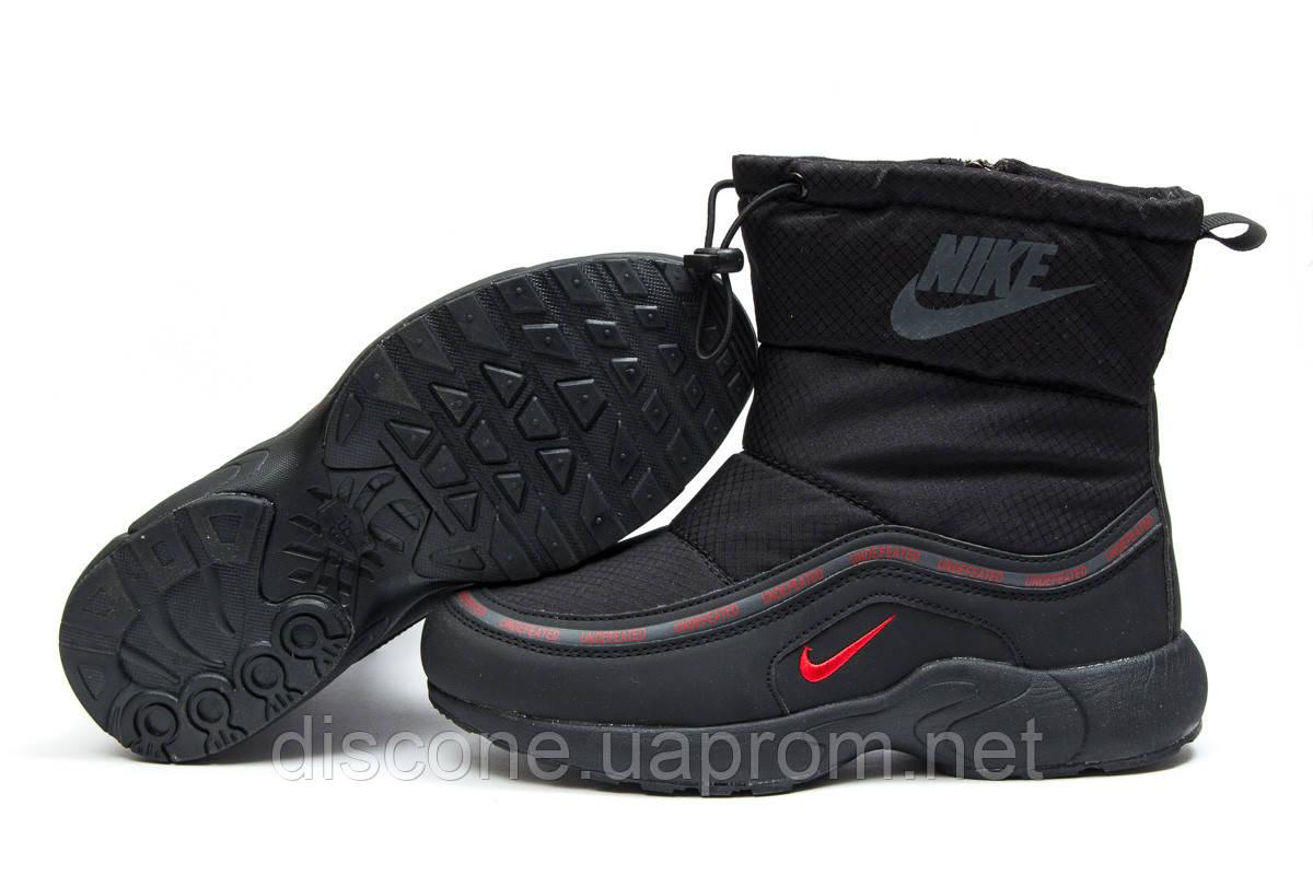Зимние ботинки на меху ► Nike Apparel,  черные (Код: 30631) ►(нет на складе) П Р О Д А Н О!
