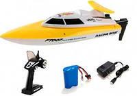 Катер на р/у Racing Boat FT007 2.4GHz (желтый) (FL-FT007y)