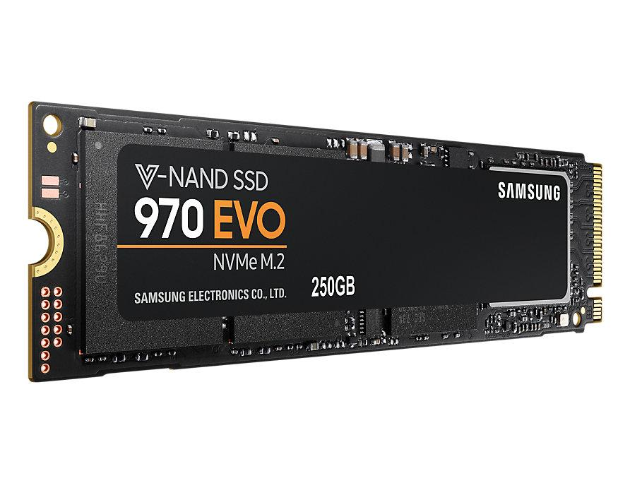 Жесткий диск (SSD) M.2 250GB Samsung 970 Evo (MZ-V7E250BW)