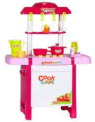 "Детский игровой набор арт. 889-90 ""Готовим весело"", 67х49х30 см, с крана течет вода"
