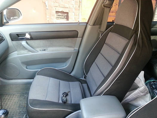 Чехлы на сиденья Тойота Авенсис (Toyota Avensis) (универсальные, автоткань, пилот)