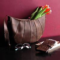 cb4dec8703d0 Оригинальная кожаная сумка Круассан Относится к категории hobo bag  Популярный наплечный аксессуар Код: КГ6494
