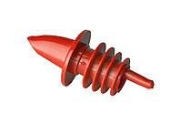Гейзер для бутылок пластиковый красный