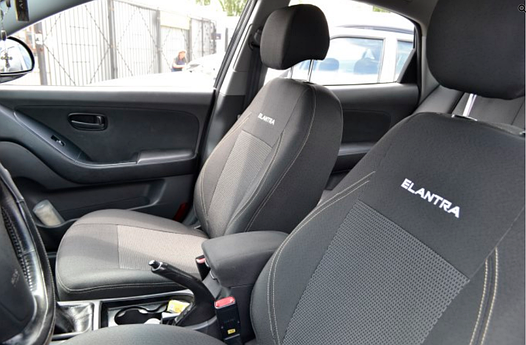 Чехлы на сиденья Сузуки Свифт (Suzuki Swift) (универсальные, автоткань, с отдельным подголовником)