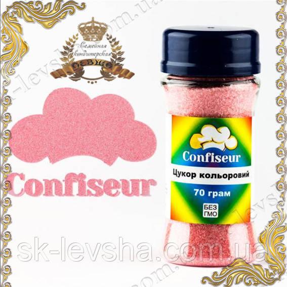 Сахар цветной Пастельный Розовый (70 г.)