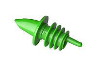 Гейзер для бутылок пластиковый зеленый