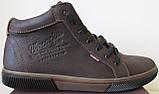 Wrangler Мужские зимние кеды ботинки натуральная кожа в спортивном стиле обувь  сапоги в стиле Вранглер синие, фото 9