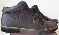 Wrangler Мужские зимние кеды ботинки натуральная кожа в спортивном стиле обувь  сапоги в стиле Вранглер коричн