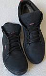 Wrangler Мужские зимние кеды ботинки натуральная кожа в спортивном стиле обувь  сапоги в стиле Вранглер синие, фото 7