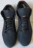 Wrangler Мужские зимние кеды ботинки натуральная кожа в спортивном стиле обувь  сапоги в стиле Вранглер синие, фото 8