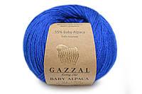 Gazzal Baby Alpaca, Синий №46010