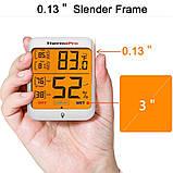 Термо-гигрометр ThermoPro TP-53 (-50°C ... 70°C; 10%...99%) с подсветкой и магнитом, фото 2