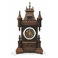 Часы деревянные в виде замка