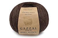 Gazzal Baby Alpaca, Шоколад №46004