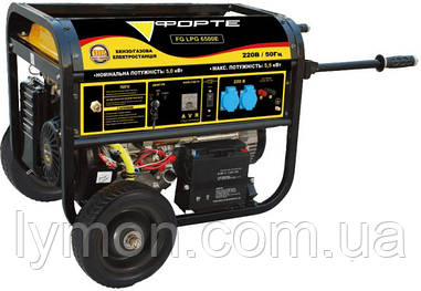 Бензогенератор FORTE FG 6500Е(5.0 кВт) (44907)